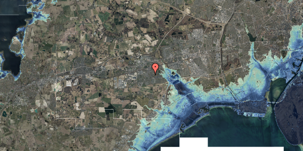 Stomflod og havvand på Valbyvej 47C, st. 39, 2630 Taastrup