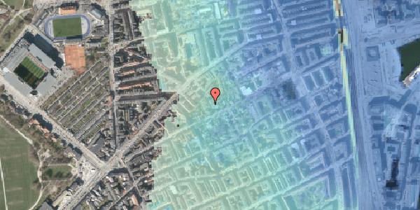 Stomflod og havvand på A.L. Drewsens Vej 1B, 2100 København Ø