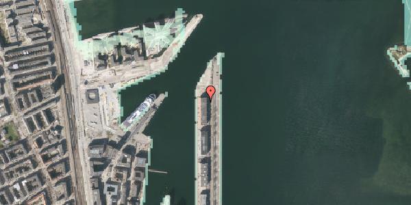 Stomflod og havvand på Langelinie Allé 49, 2100 København Ø