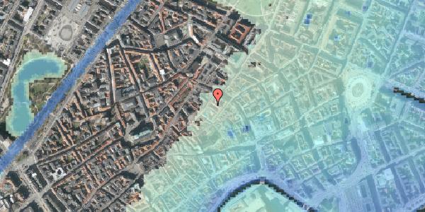 Stomflod og havvand på Løvstræde 3B, 1152 København K