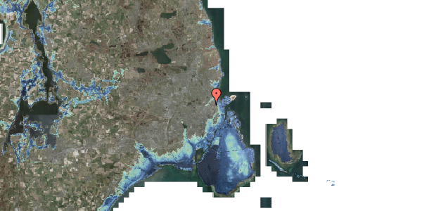 Stomflod og havvand på Ragnagade 15, 2. 3, 2100 København Ø