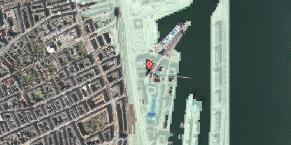 Stomflod og havvand på Amerika Plads 25C, 2. mf, 2100 København Ø