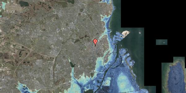 Stomflod og havvand på Rebslagervej 8, 2400 København NV