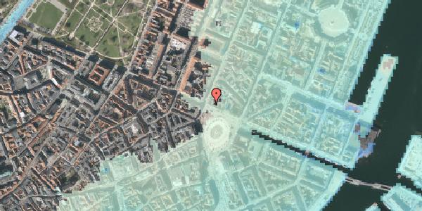 Stomflod og havvand på Kongens Nytorv 22, 2. , 1050 København K