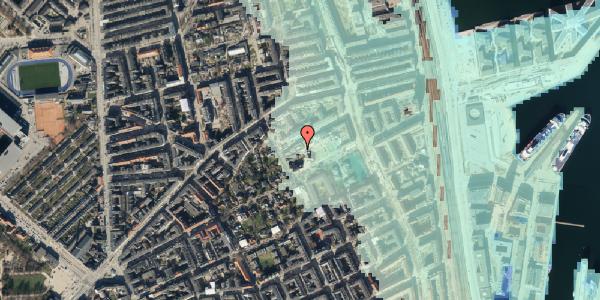 Stomflod og havvand på Rosenvængets Hovedvej 35, 1. , 2100 København Ø