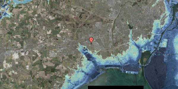Stomflod og havvand på Løkkekrogen 5, 2625 Vallensbæk