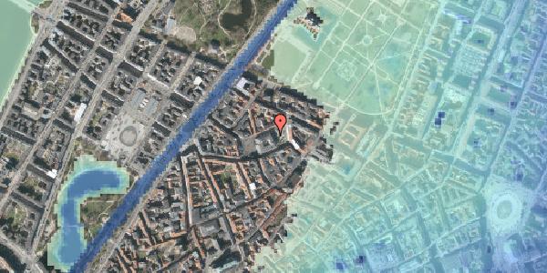 Stomflod og havvand på Hauser Plads 5, 1127 København K