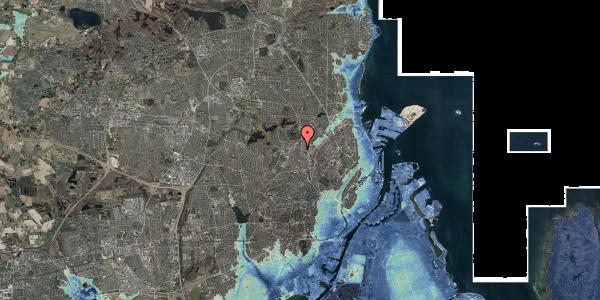 Stomflod og havvand på Rentemestervej 38A, 2400 København NV