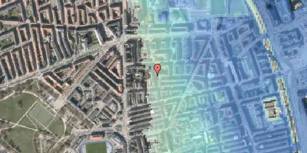 Stomflod og havvand på Vordingborggade 6K, kl. , 2100 København Ø
