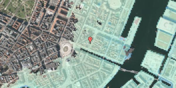 Stomflod og havvand på Nyhavn 11C, 1. , 1051 København K