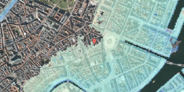 Stomflod og havvand på Ny Østergade 2, 2. , 1101 København K