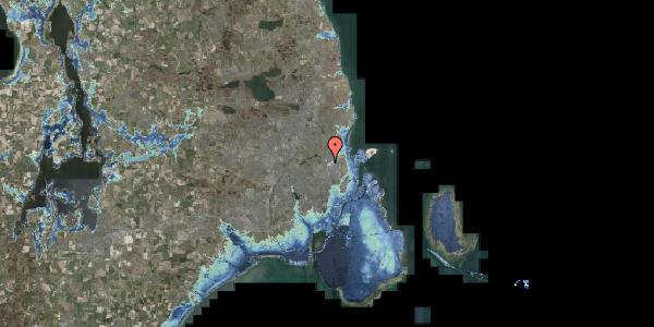 Stomflod og havvand på Bispebjerg Bakke 6, 2400 København NV