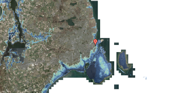 Stomflod og havvand på Edel Sauntes Allé 14, 2100 København Ø