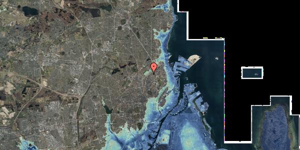 Stomflod og havvand på Vermundsgade 40, 2. th, 2100 København Ø