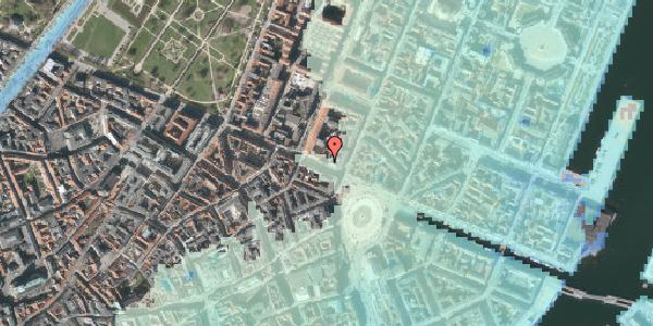 Stomflod og havvand på Gothersgade 8A, 3. , 1123 København K