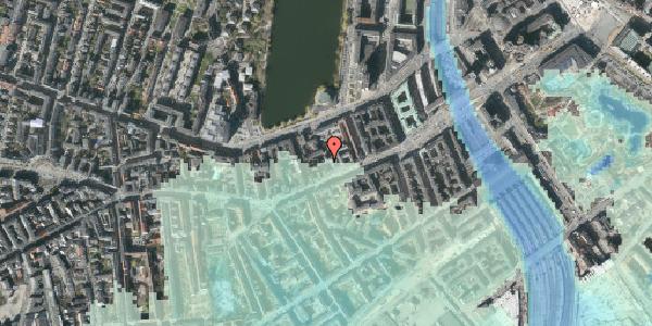 Stomflod og havvand på Vesterbrogade 24A, kl. , 1620 København V