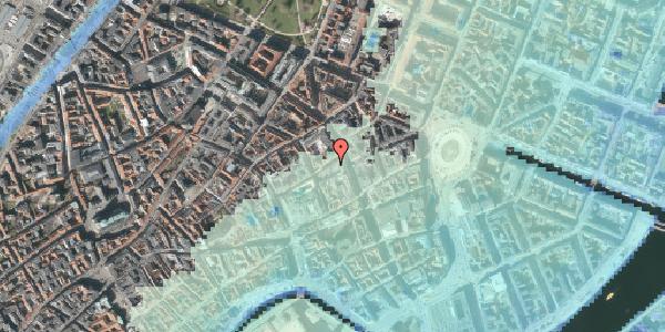 Stomflod og havvand på Antonigade 4, 1106 København K