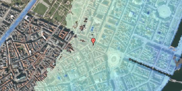 Stomflod og havvand på Store Regnegade 26D, 1110 København K