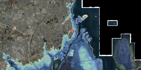 Stomflod og havvand på Gothersgade 139, 5. 2, 1123 København K