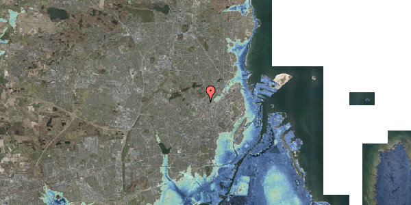 Stomflod og havvand på Dortheavej 2, 2. 3, 2400 København NV