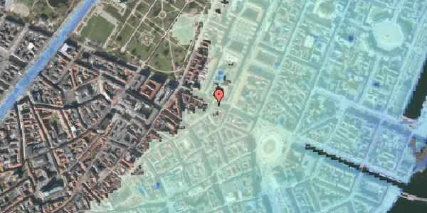 Stomflod og havvand på Store Regnegade 28, 1110 København K