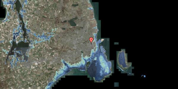 Stomflod og havvand på Rentemestervej 40B, 1. 3, 2400 København NV