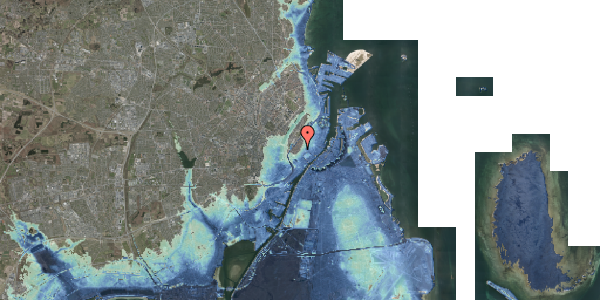 Stomflod og havvand på Skoubogade 5, 1. , 1158 København K