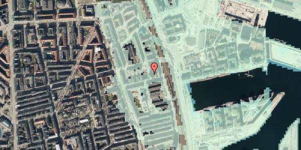 Stomflod og havvand på Hjørringgade 37, 1. tv, 2100 København Ø