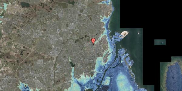 Stomflod og havvand på Frederiksborgvej 49, 2400 København NV