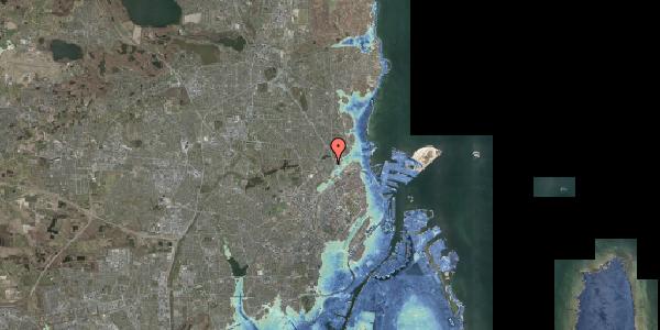 Stomflod og havvand på Emdrupvej 26F, 2100 København Ø
