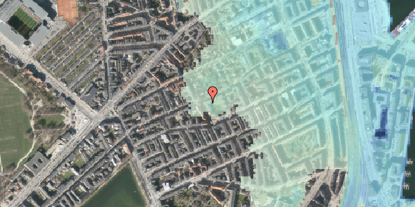 Stomflod og havvand på Saabyesvej 10, st. th, 2100 København Ø