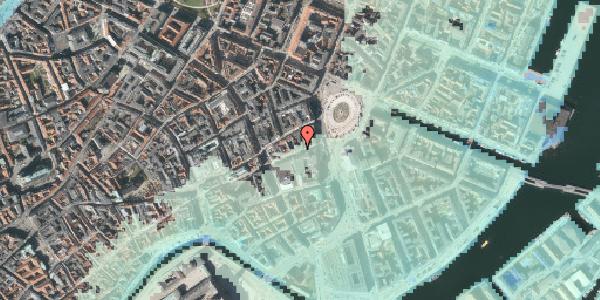 Stomflod og havvand på Lille Kongensgade 10, 1074 København K