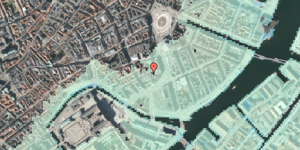 Stomflod og havvand på Laksegade 11, st. , 1063 København K