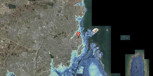 Stomflod og havvand på Lyngbyvej 22, 3. , 2100 København Ø