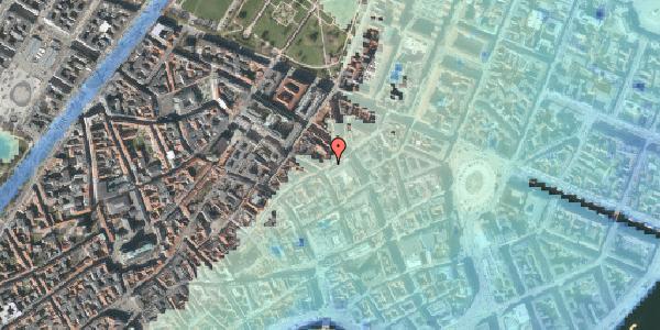 Stomflod og havvand på Sværtegade 3, 1. , 1118 København K