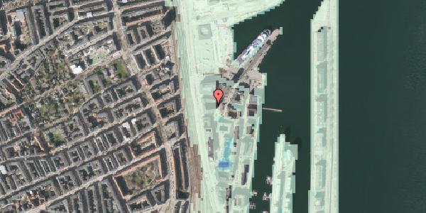 Stomflod og havvand på Amerika Plads 25A, 3. tv, 2100 København Ø