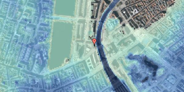 Stomflod og havvand på Vester Farimagsgade 9, 3. , 1606 København V