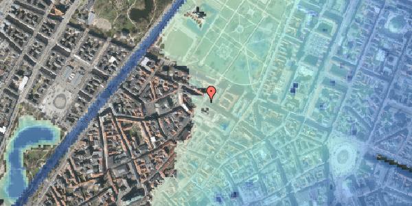Stomflod og havvand på Vognmagergade 11, 1. , 1120 København K