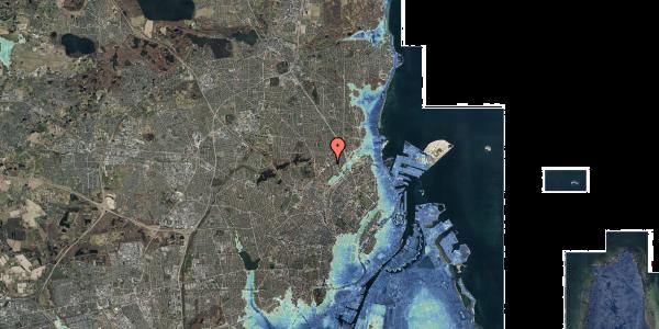 Stomflod og havvand på Tuborgvej 233, 2400 København NV