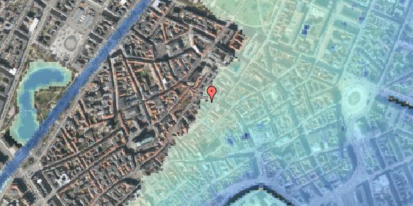 Stomflod og havvand på Løvstræde 4B, 5. , 1152 København K