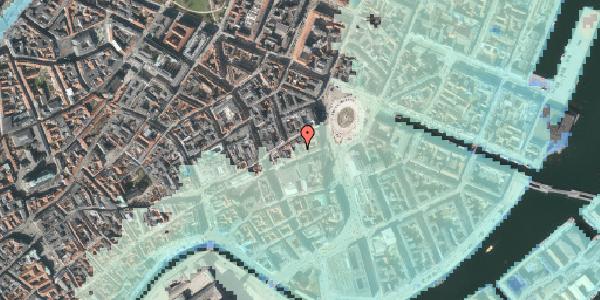 Stomflod og havvand på Østergade 13A, 3. , 1100 København K