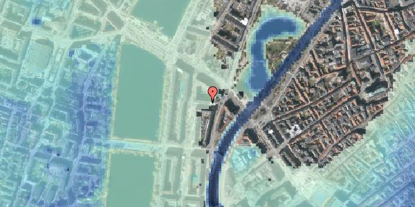 Stomflod og havvand på Dahlerupsgade 4, 1603 København V