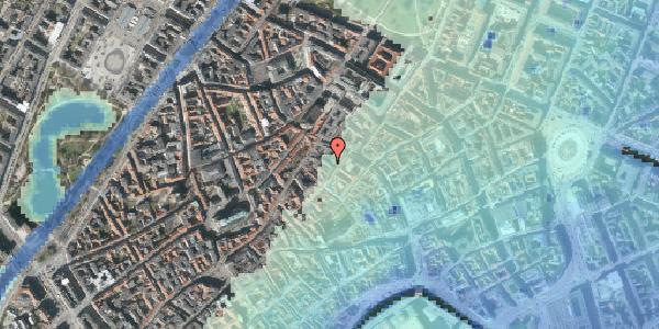 Stomflod og havvand på Løvstræde 8A, 1. , 1152 København K