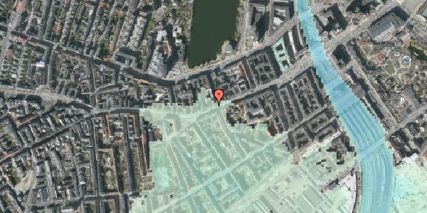 Stomflod og havvand på Vesterbrogade 30, 1. tv, 1620 København V