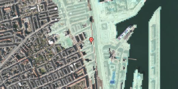 Stomflod og havvand på Østbanegade 87, 2100 København Ø