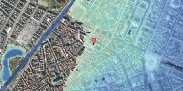 Stomflod og havvand på Pilestræde 60, st. , 1112 København K