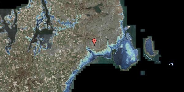 Stomflod og havvand på Firkløverparken 33, 2625 Vallensbæk