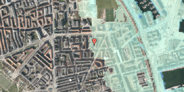 Stomflod og havvand på Svendborggade 1, 4. 404, 2100 København Ø
