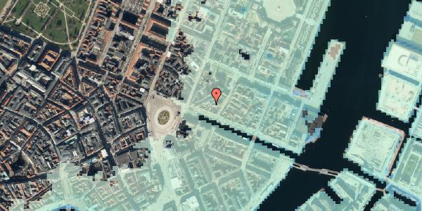 Stomflod og havvand på Nyhavn 11B, 2. 3, 1051 København K
