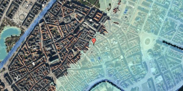 Stomflod og havvand på Købmagergade 33, 2. , 1150 København K